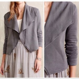 Anthropologie Dolan Gray Open Cropped Cardigan